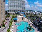 LARGEST GULF-SIDE POOL in GULF SHORES