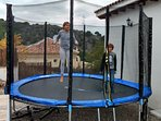 Big trampoline for the children
