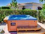 Fabulous private hot tub