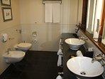 Bathroom 1 (bathroom 2 is identical)