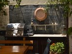 Gas barbecue for alfresco dining