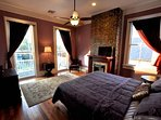 French Quarter Master Suite w/ Front Balcony Access