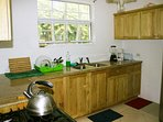 Common kitchen with all facilities needed for cooking