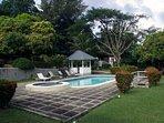 Enjoy the swimming pool