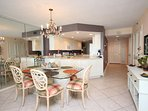 Dining room seating for up to 6 guests!