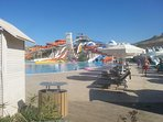 Water park 10 mins away at Elexus Hotel