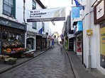 The two week long St Ives September festival is always a popular time to visit