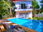 West Wind Villa consist of three structures centered around a very private pool- Savannah House