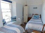 Beachglass Twin Bedroom with Sea Views