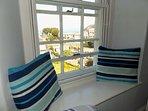 Beachglass Twin Room Window View