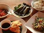 your cook prepares delicious indonesian food