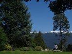 Vista a la Cordillera de los Andes