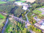 The iconic viaduct at Kilmacthomas on the Waterford Greenway.