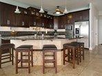Kitchen and Island bar