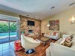 Comfortable Furnished Living Room