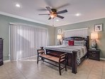 Comfortable Master Suite