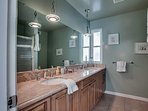 Master Suite Bathroom with Walk-In Shower