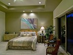 Master Suite with Seating