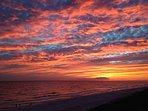 Spectacular Sunsets Over the Gulf of Mexico