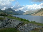 Britain's favourite view, Wastwater with Great Gable in the centre