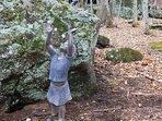'Enchanted Bolder garden' . A magical place, perfect for a prayer or meditation.