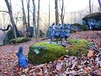 Bolder garden we call an 'Enchanted garden' . A magical place, perfect for a prayer or meditation.