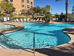 Look forward to many perfect pool days by the community pool.