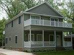 Large 2300 square foot home with 4 decks.
