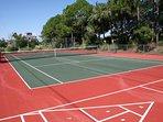 Tennis Court and Schuffleboard