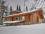 For the ultimate Minnesota getaway, escape to this cozy 4-bedroom, 2.5-bathroom vacation rental cabin in Deer River...