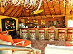 Welcome to the Tiki Bar 1000 sq ft full kitchen for preparing all your meals and full bar set up.