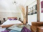 Cottage Intimiste 65m² pour 2 personnes (possib+2 personnes), calme et intimité