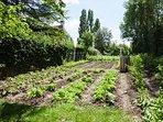 Cottage Intimiste, terrasse et jardin, potager Bio