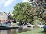 Nearby Bourton On The Water (15 mins drive)
