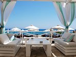 Zias Beach Club - exclusively for Aphrodite Hills Resort residents.