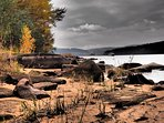 Lipno in autumn