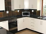 fully eqipped self cater kitchen,including ,stove,oven,microwave, kettle,toaster coffee machine