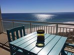 Enjoy your coffee or other favorite beverage while enjoying this view from the balcony.