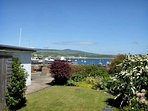 A view of the Harbour from the Garden of Langton Holiday Cottage