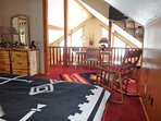 Master bed, (king) upstairs suite. all Aspen Furnature