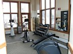 Fitness room on site