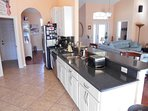 full kitchen with everything you need for a snack attack or family feast