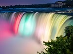Niagara Falls is a 25 minute drive