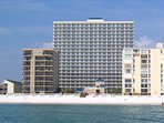 VIEW of THE CONDO FROM THE GULF of MEXICO!