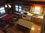 Brand new granite countertops, new cabinets