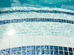 Bling pool steps