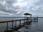 100 foot dock electric hoist