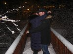 ON OUR FOOT BRIDGE - A ROMANTIC GET-AWAY 'JUST FOR TWO' 12-25-16