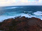 The rugged coastline at Augusta - the southern tip of the Margaret River Wine Region