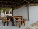 BARBECUE AREA: for 8 - 12 people (guests, events)